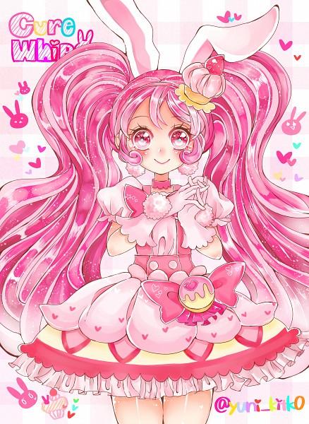 Tags: Anime, Pixiv Id 13867898, Kirakira☆Precure a la Mode, Usami Ichika, Cure Whip, Rabbit, Pink