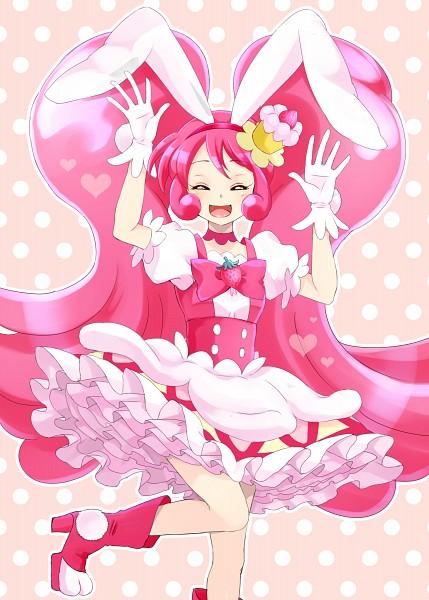 Tags: Anime, Pixiv Id 1119262, Kirakira☆Precure a la Mode, Usami Ichika, Cure Whip, Petticoats, Pink Footwear
