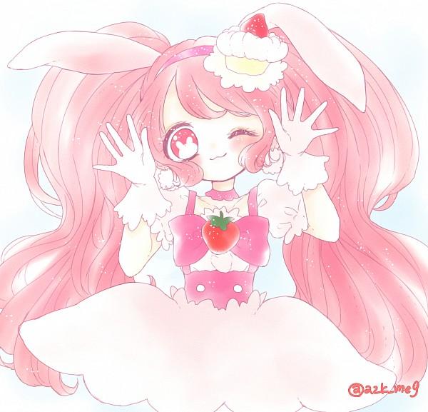 Tags: Anime, Pixiv Id 13730032, Kirakira☆Precure a la Mode, Usami Ichika, Cure Whip, Pink Bow
