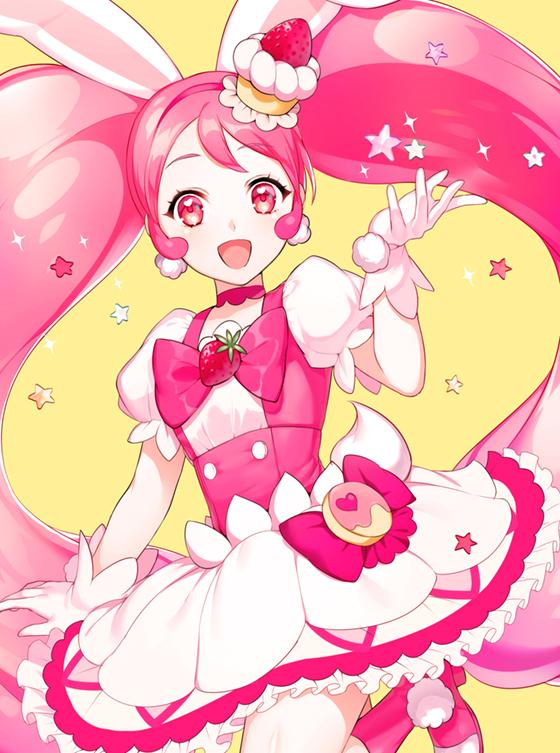 Tags: Anime, sane (shiba_0), Kirakira☆Precure a la Mode, Usami Ichika, Cure Whip, Fanart, Mobile Wallpaper, Fanart From Pixiv, Pixiv