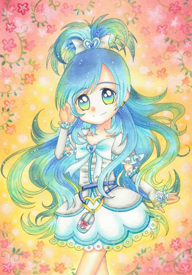 Tags: Anime, Yuua, Futari wa Precure, Cure White, Yukishiro Honoka, Fanart From Pixiv, Fanart, Pixiv