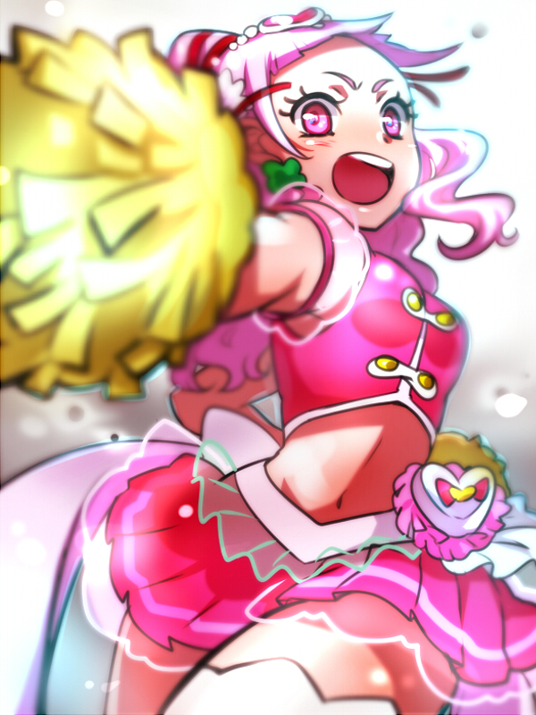 Tags: Anime, Kagamichihiro, HUGtto! Precure, Nono Hana, Cure Yell, Fanart From Pixiv, Pixiv, Wallpaper, Fanart