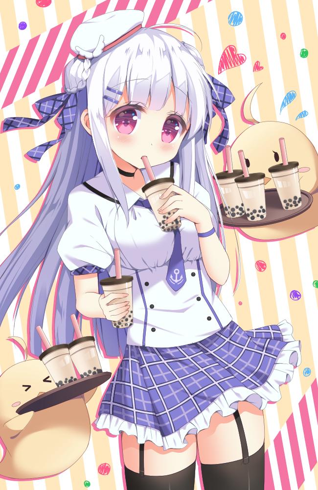 Tags: Anime, Pixiv Id 7550113, Azur Lane, Cygnet (Azur Lane), Tapioca Challenge