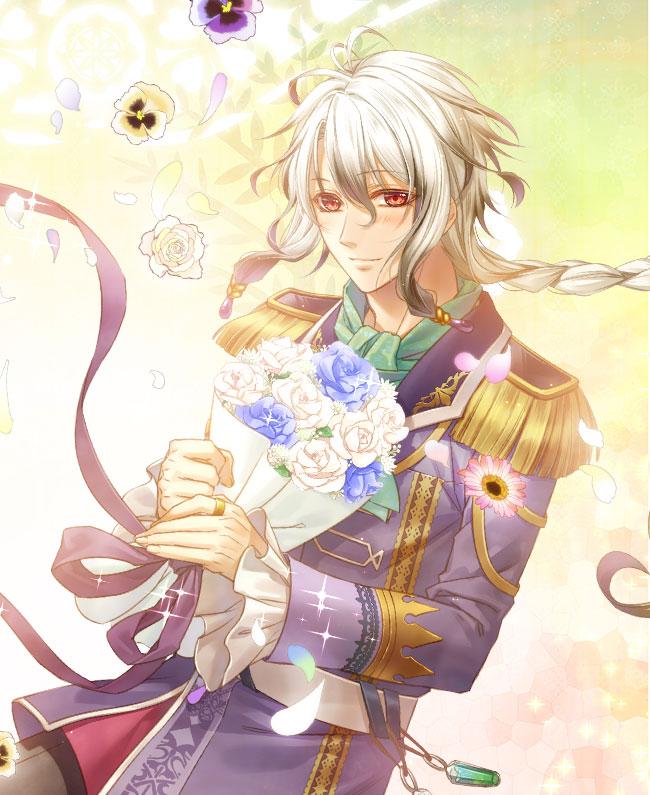 Tags: Anime, Murasaki Aya, IDEA FACTORY, Otomate, DESIGN FACTORY, Moujuu-tachi to Ohime-sama, Czarodziej, Official Art