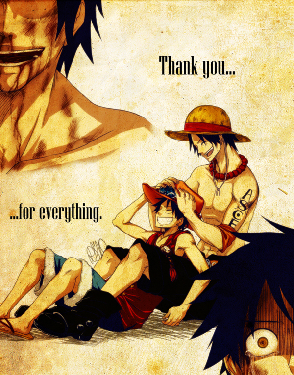 Tags: Anime, DS Hina, ONE PIECE, Portgas D. Ace, Monkey D. Luffy, Memories, Dying, deviantART, Fanart, Fanart From DeviantART, D. Brothers