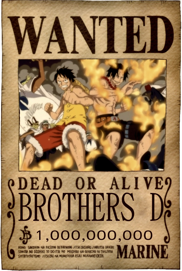 D Brothers One Piece Mobile Wallpaper 788490