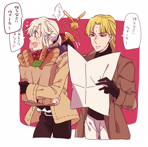 Tags: Anime, Pixiv Id 4774016, D.Gray-man, Allen Walker, Howard Link, Timcanpy, Rounded Corners