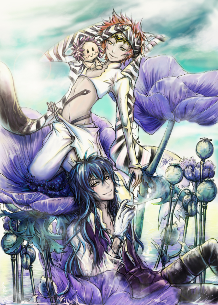 Wisely d gray man zerochan anime image board - D gray man images ...