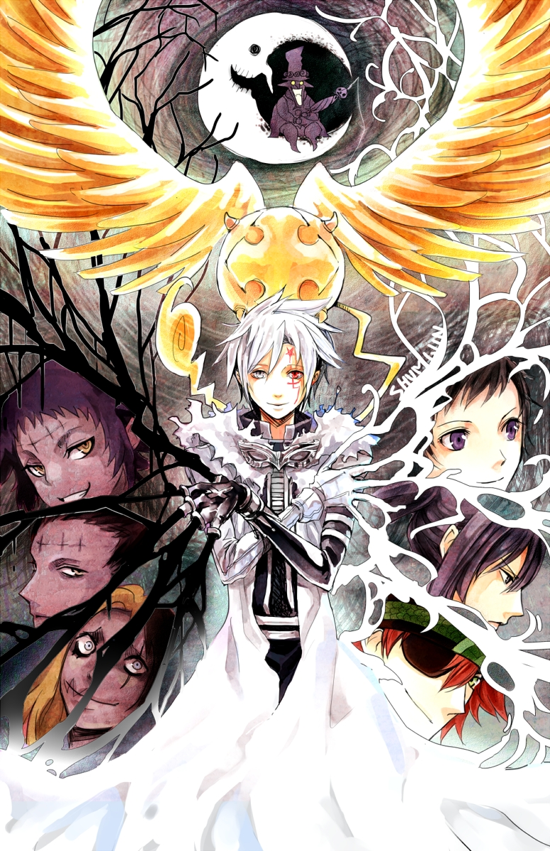 D Gray Man Mobile Wallpaper 1558641 Zerochan Anime Image Board