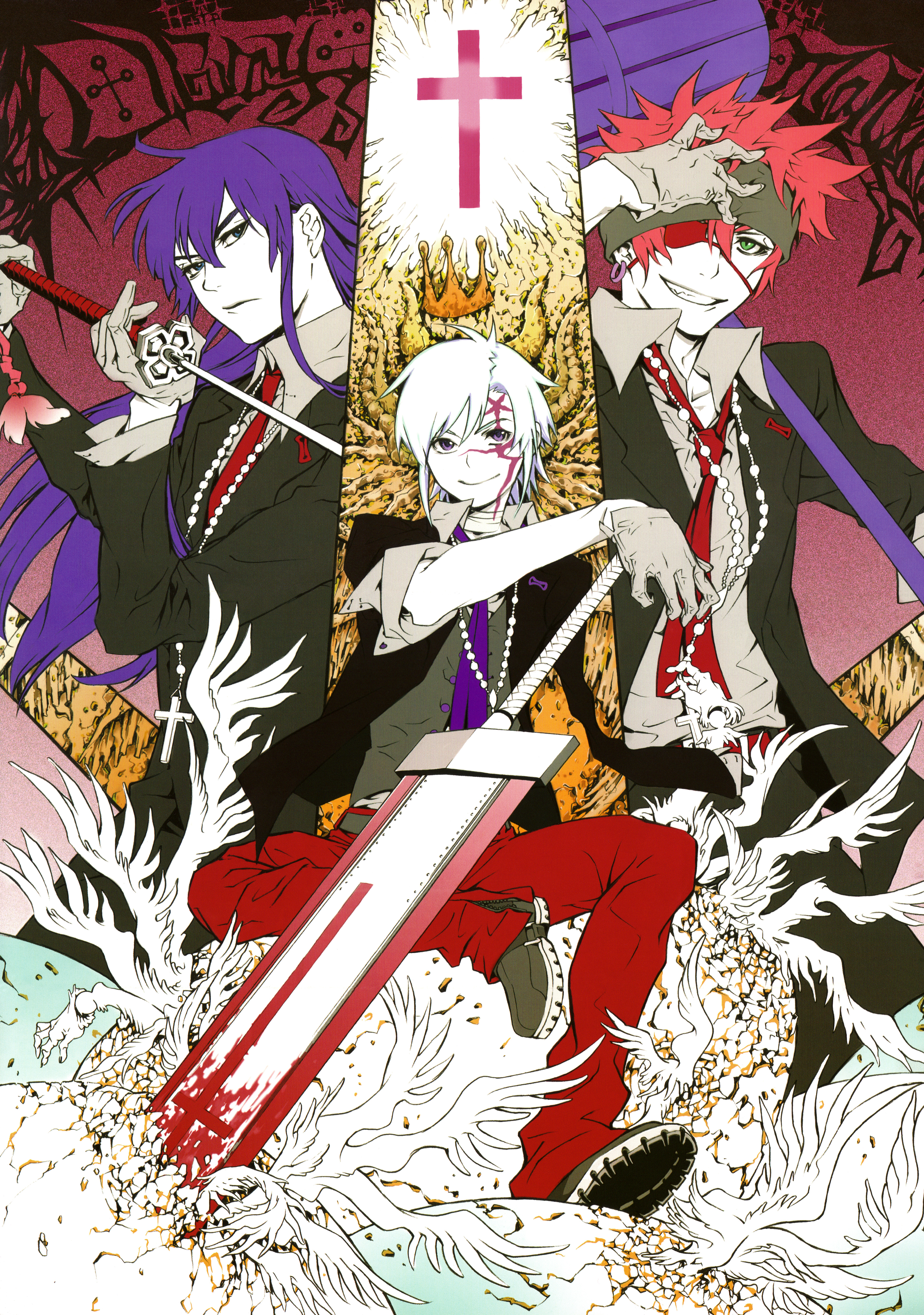 D gray man zerochan anime image board - D gray man images ...