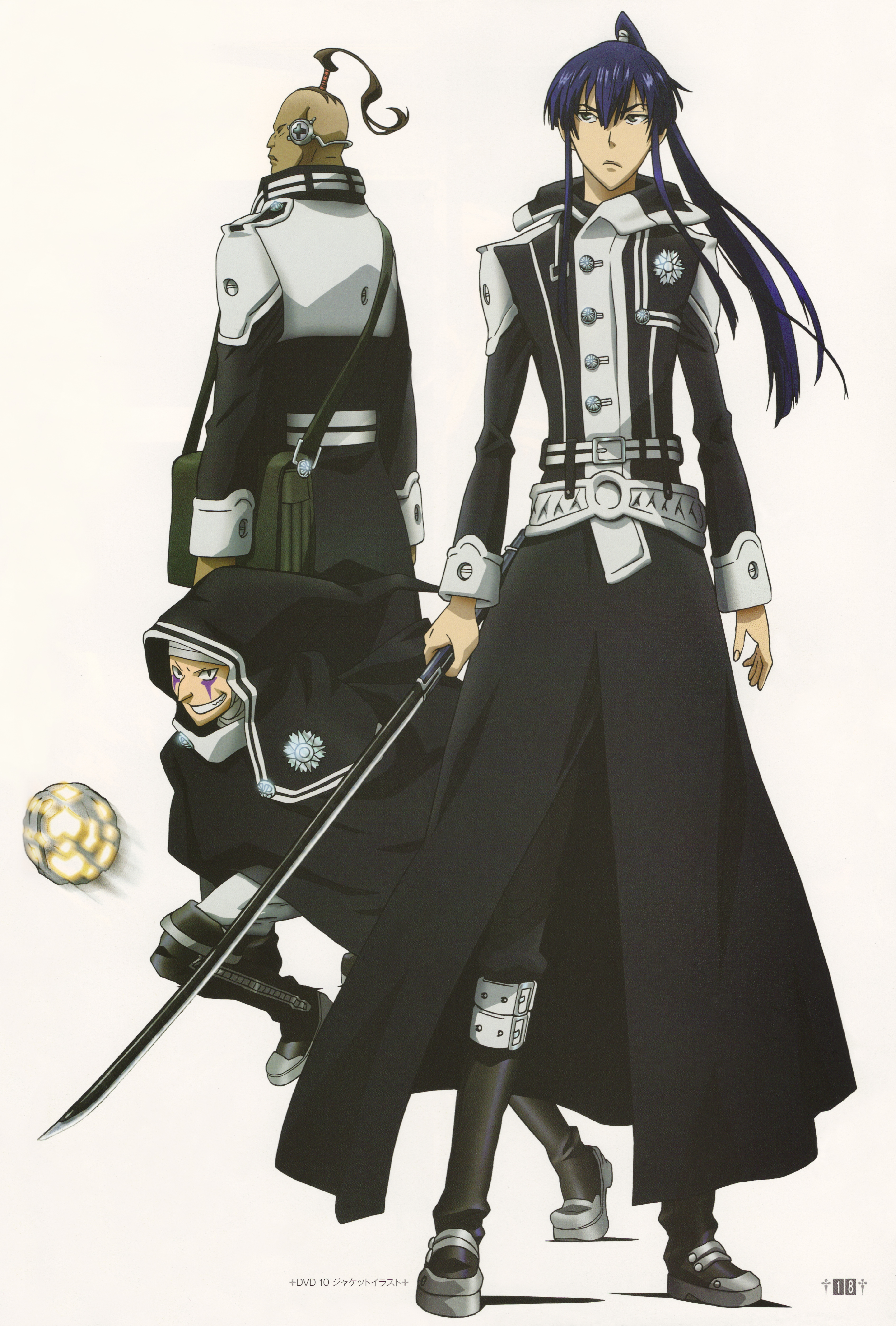 Daisya barry d gray man zerochan anime image board - D gray man images ...