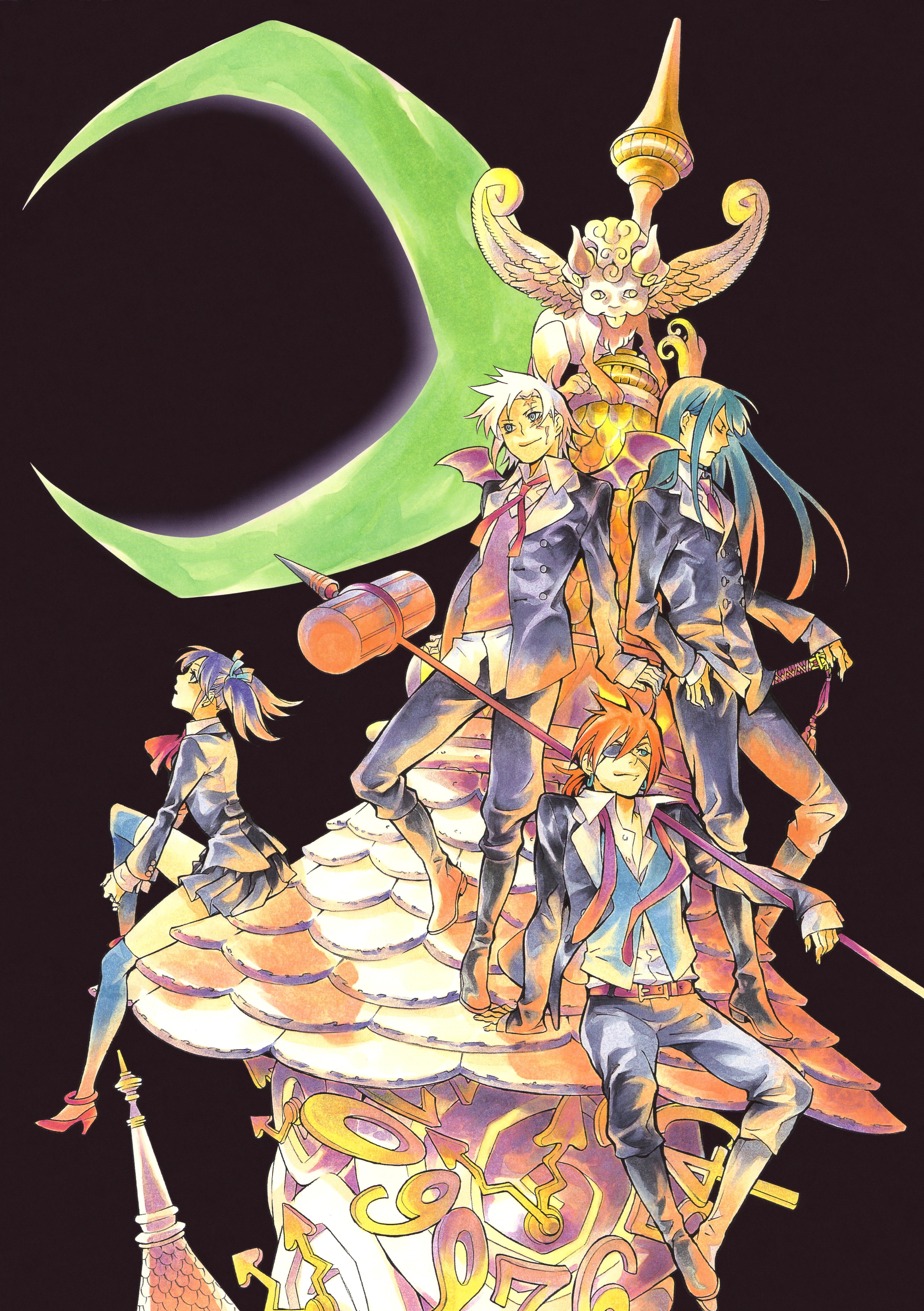 Hoshino katsura zerochan anime image board - D gray man images ...
