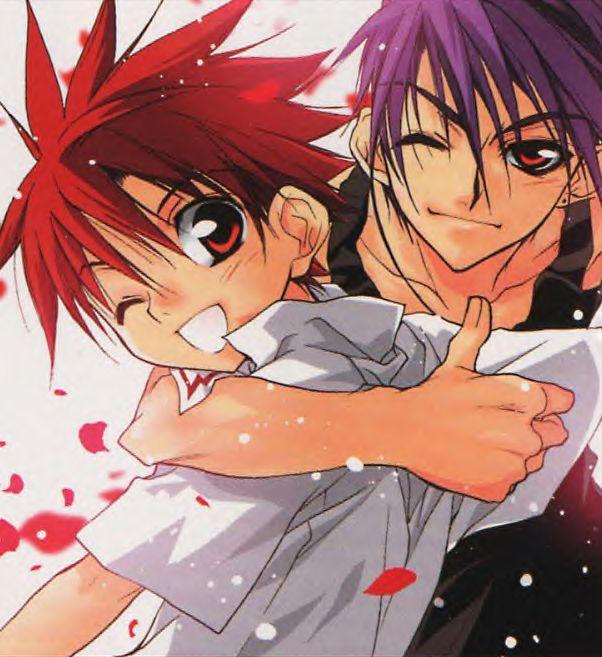 Tags: Anime, Sugisaki Yukiru, D.N.Angel, Dark Mousy, Niwa Daisuke, Thumbs Up
