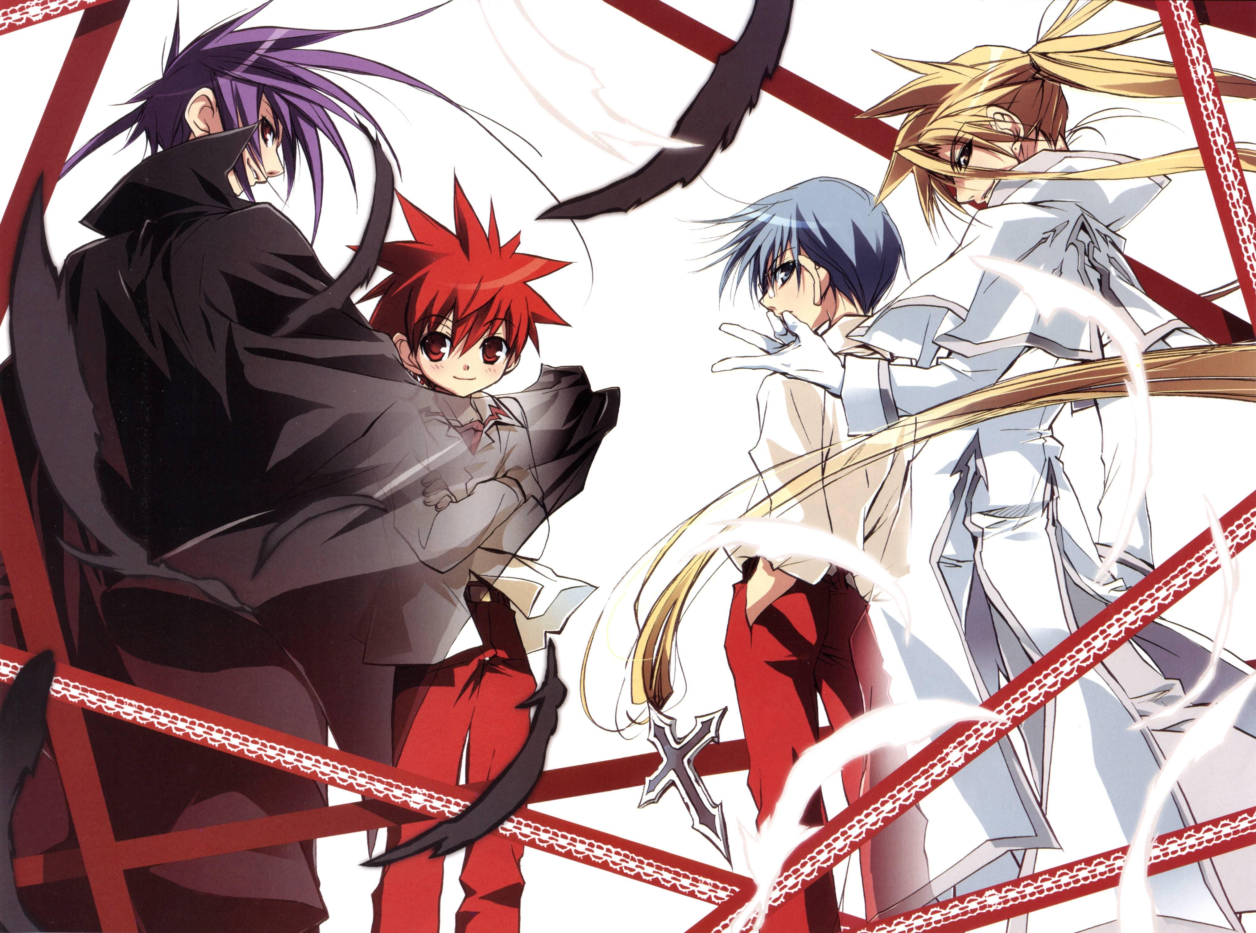 D. N. Angel, red hair | page 9 zerochan anime image board.