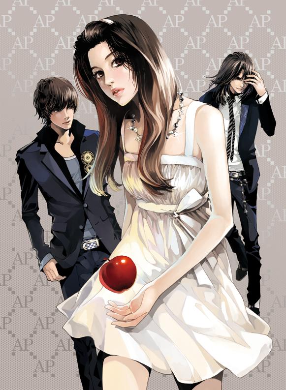 Tags: Anime, DAISY (Artist), Twilight, Red Apple, Pixiv, Original