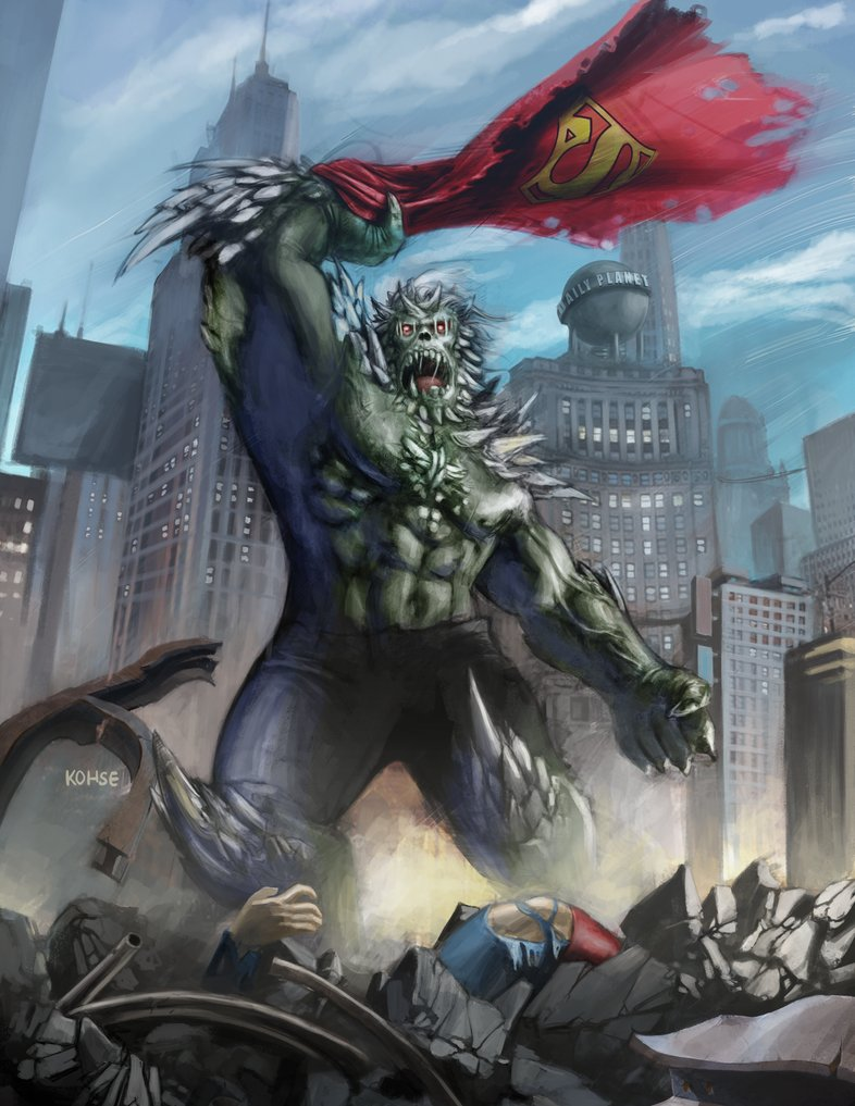 Doomsday Dc Superman Zerochan Anime Image Board