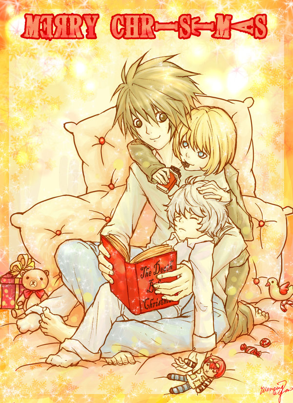 Tags: Anime, Wenqing Yan, DEATH NOTE, Mello, Near, L Lawliet