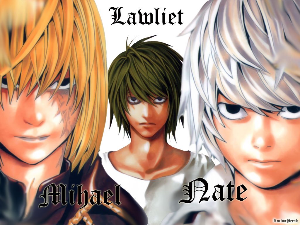 DEATH NOTE - Obata Takeshi - Wallpaper #282683 - Zerochan ...