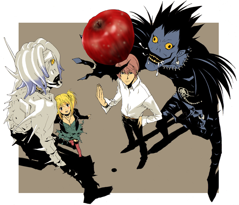 death note ryuk and rem - photo #16