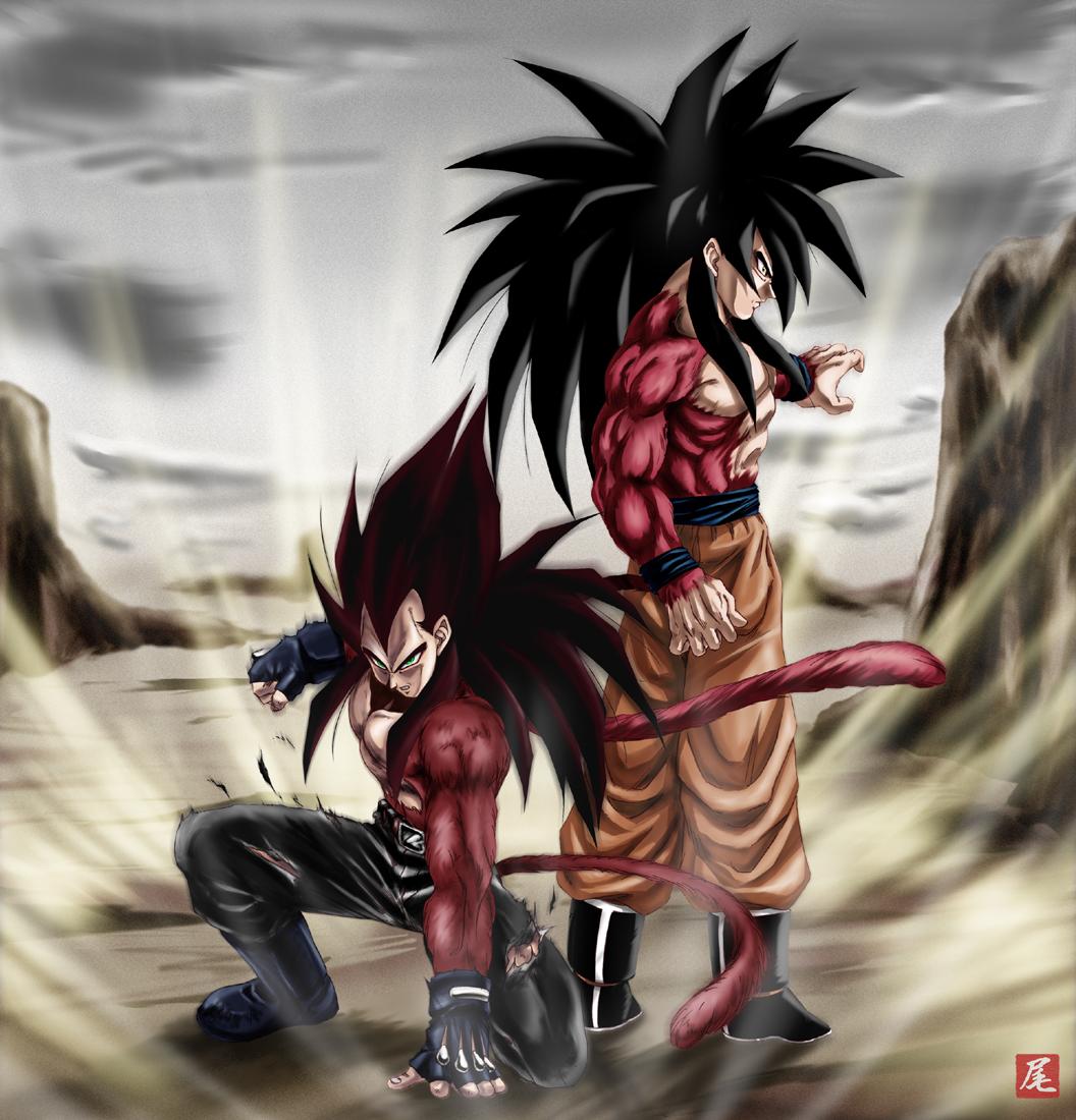 Super Saiyan 4 Dragon Ball Gt Zerochan Anime Image Board