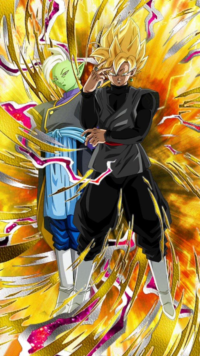 Tags: Anime, DRAGON BALL SUPER, Black Goku, Zamasu, Potara, Super Saiyan