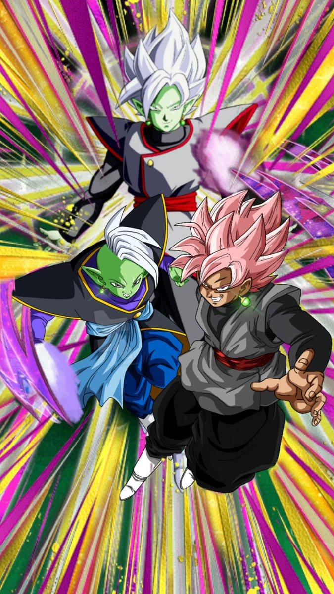 Tags: Anime, DRAGON BALL SUPER, Zamasu, Black Goku, Potara