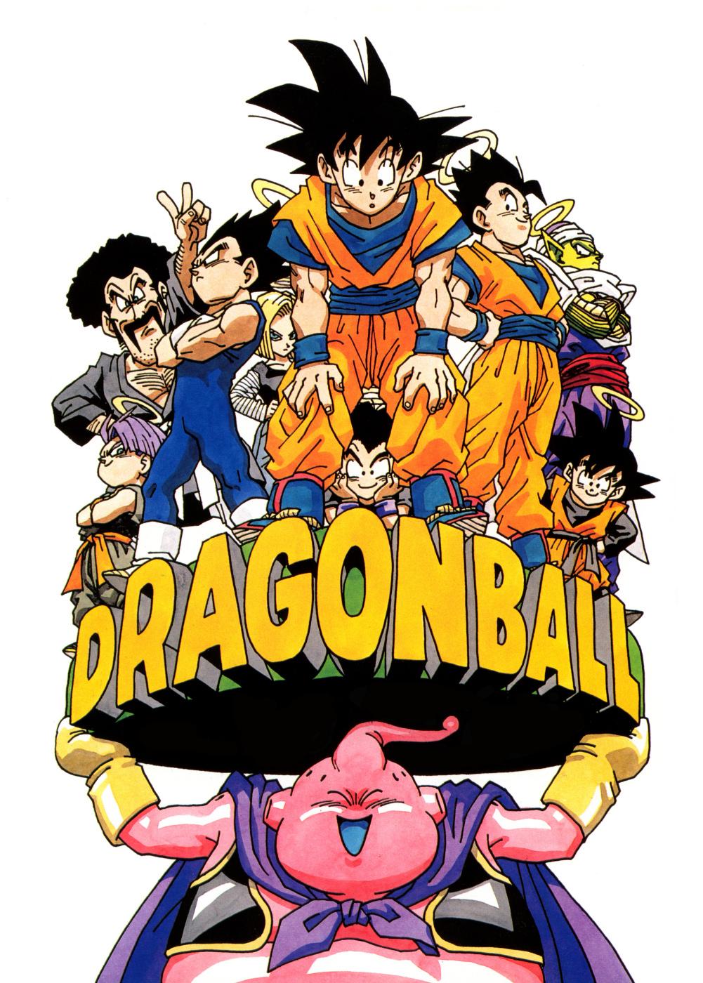 Toriyama akira zerochan anime image board - Dragon ball z image ...