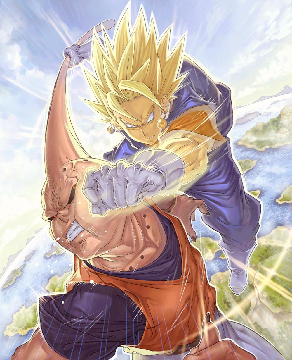 Vegito Dragon Ball Zerochan Anime Image Board