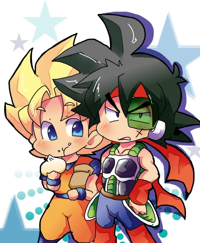 Tags: Anime, Pixiv Id 2329629, DRAGON BALL, DRAGON BALL Z, Bardock (DRAGON BALL), Son Goku (DRAGON BALL), Meat Buns, Dim Sum