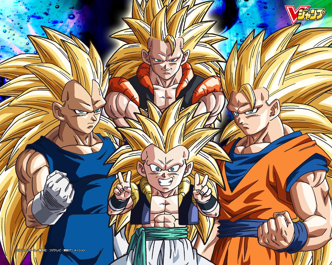 Dragon Ball GT: rompecabezas de Vegeta y Goku fase 4
