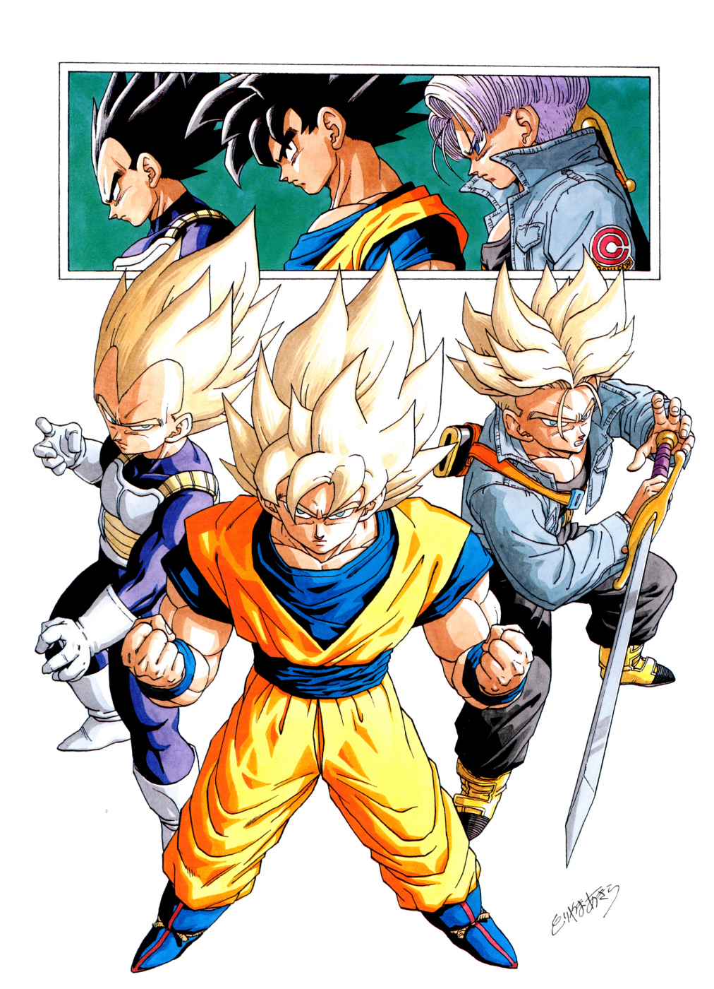 What S Your Favorite Art Piece That Was Made By Toriyama Dbz