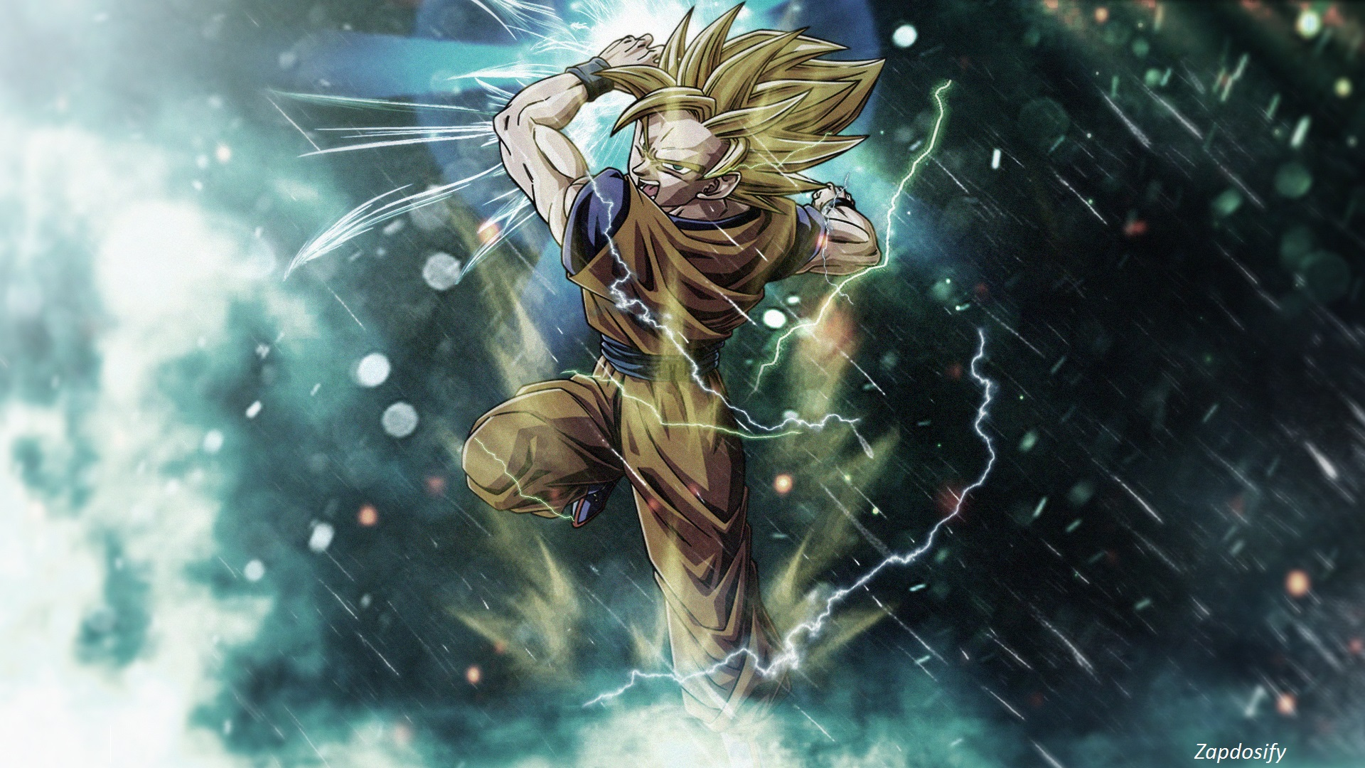 son goku (dragon ball), hd wallpaper - zerochan anime image board