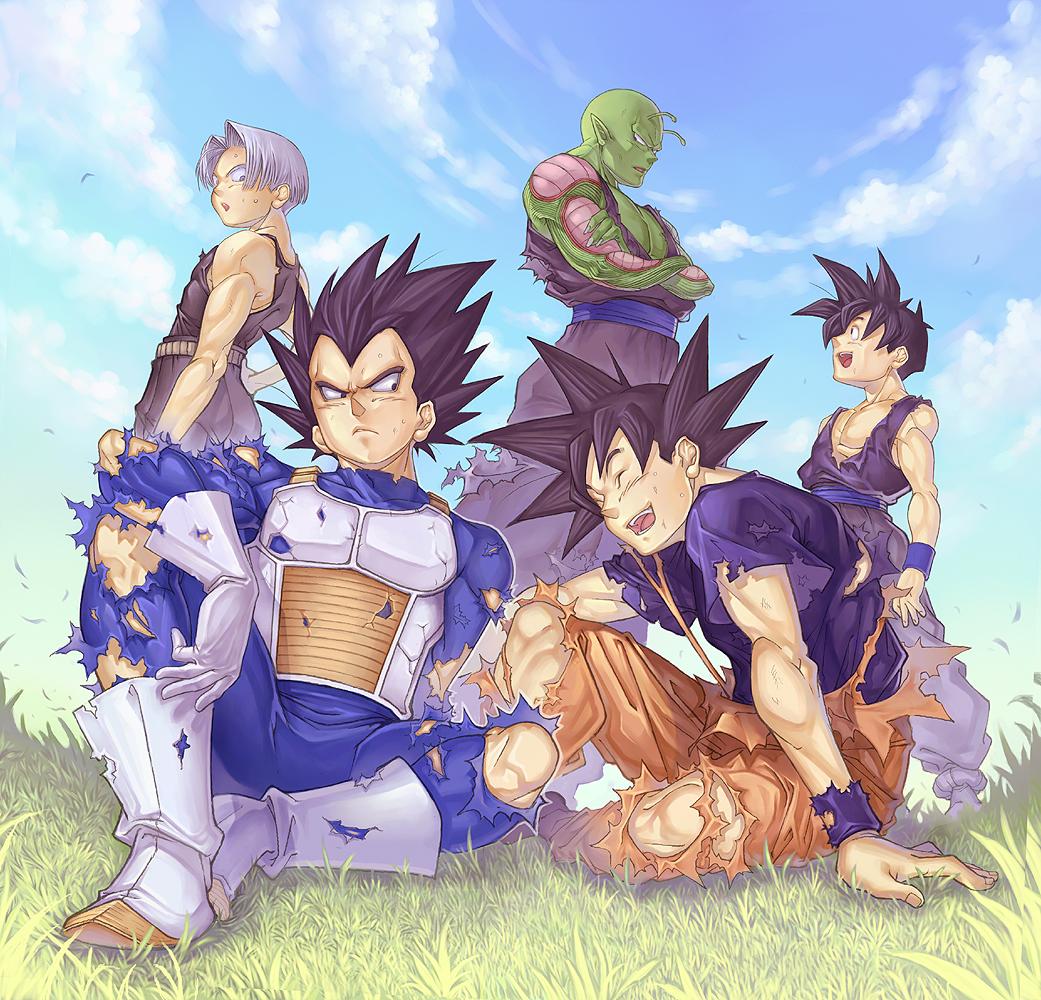 Vegeta fanart zerochan anime image board - Image dragon ball z gratuit ...