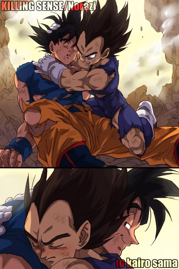 Tags: Anime, DRAGON BALL, DRAGON BALL Z, Vegeta, Son Goku (DRAGON BALL), Mobile Wallpaper
