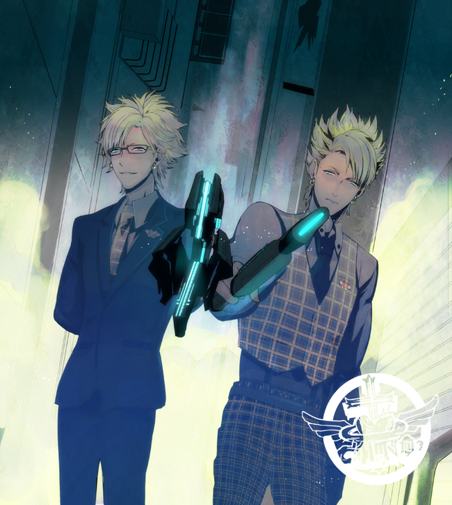 Tags: Anime, 841 (Artist), Nitro+, Nitro+CHiRAL, PSYCHO-PASS, DRAMAtical Murder, Trip (DMMd), Virus (DMMd), PSYCHO-PASS (Parody), Fanart From Pixiv, Fanart, Pixiv