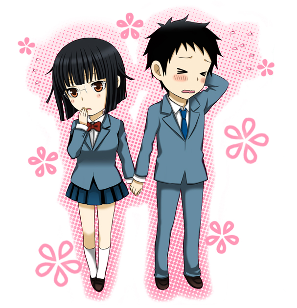 Anime Characters Holding Hands : Durarara zerochan