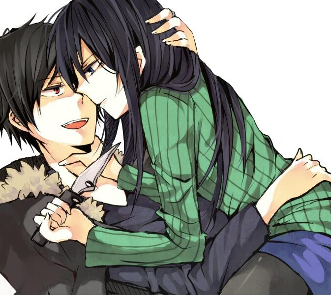 Tags: Anime, DURARARA!!, Yagiri Namie, Orihara Izaya, Pixiv