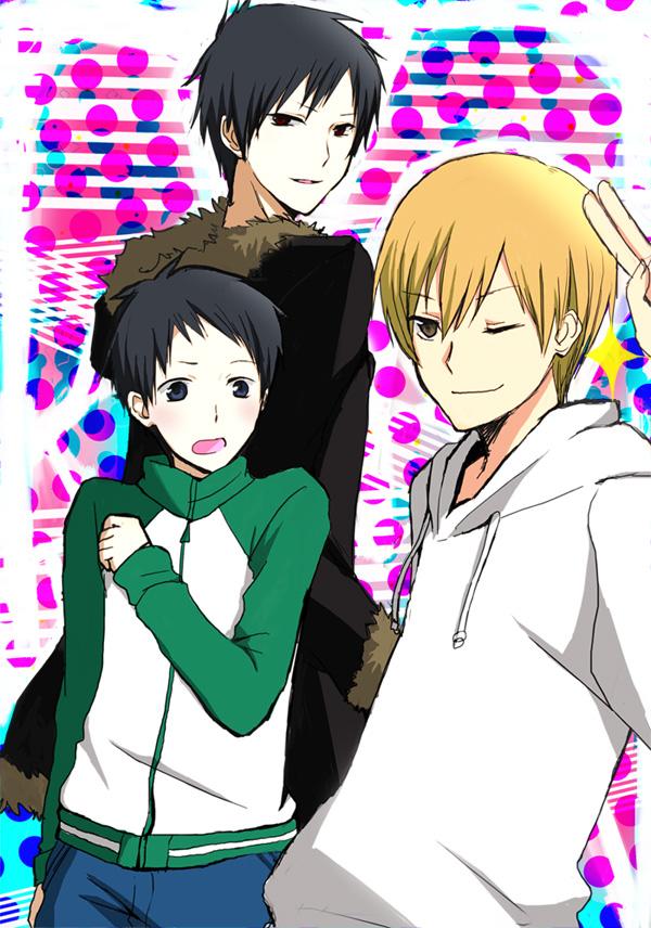 Tags: Anime, DURARARA!!, Orihara Izaya, Ryuugamine Mikado, Kida Masaomi