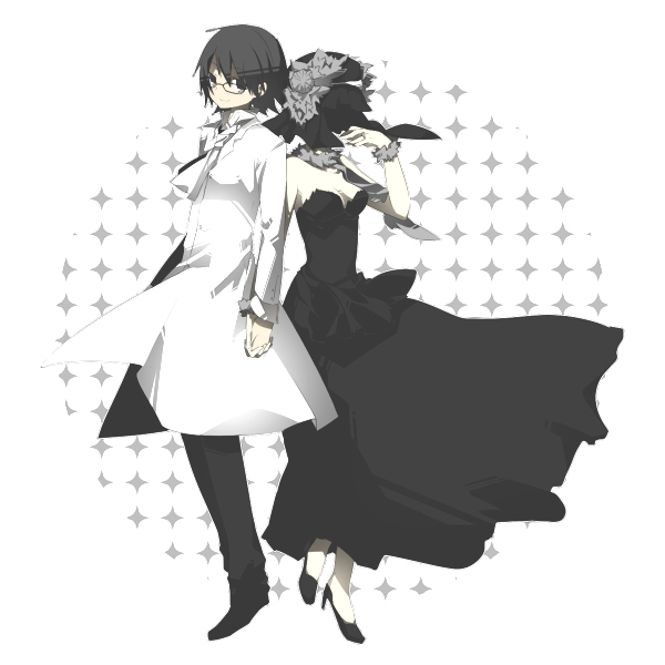 Tags: Anime, Ciel Arc, DURARARA!!, Sturluson Celty, Kishitani Shinra, Dismember, Diamonds (DURARARA!!), Rouge no Dengon