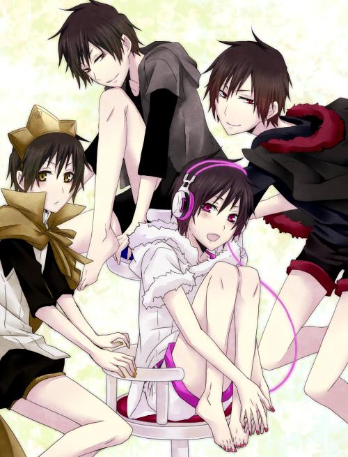 Tags: Anime, Monokuropengin, DURARARA!!, Orihara Izaya, Psyche, Hibiya, Hachimenroppi Izaya, Pixiv, Subarashii Hibi, Fanart, Psychedelic Dreams