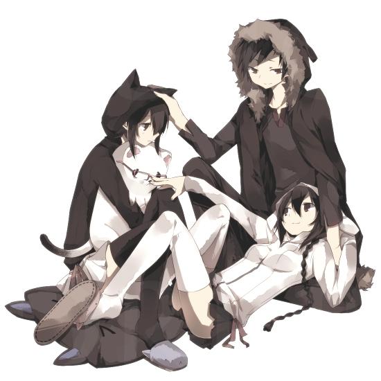 Tags: Anime, Ciel Arc, DURARARA!!, Orihara Kururi, Orihara Mairu, Orihara Izaya