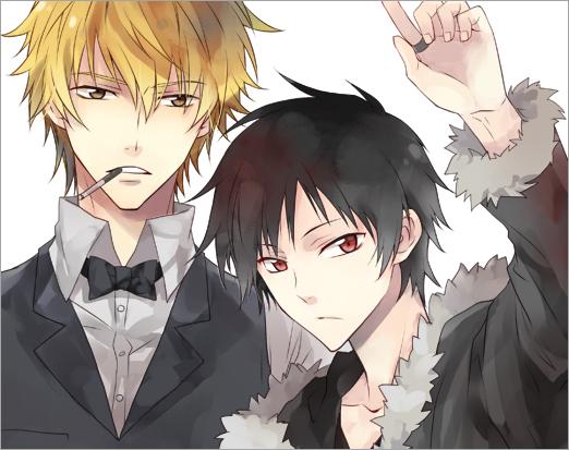 Tags: Anime, Y.tea, DURARARA!!, Heiwajima Shizuo, Orihara Izaya