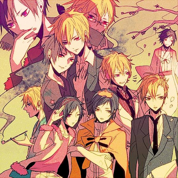 Tags: Anime, Pixiv Id 415416, DURARARA!!, Hibiya, Delic, Heiwajima Shizuo, Tsugaru, Psyche, Orihara Izaya, Shitsuo, Tsugaru Kaikyo Fuyu Geshiki, Pixiv, Hachimenroppi Izaya