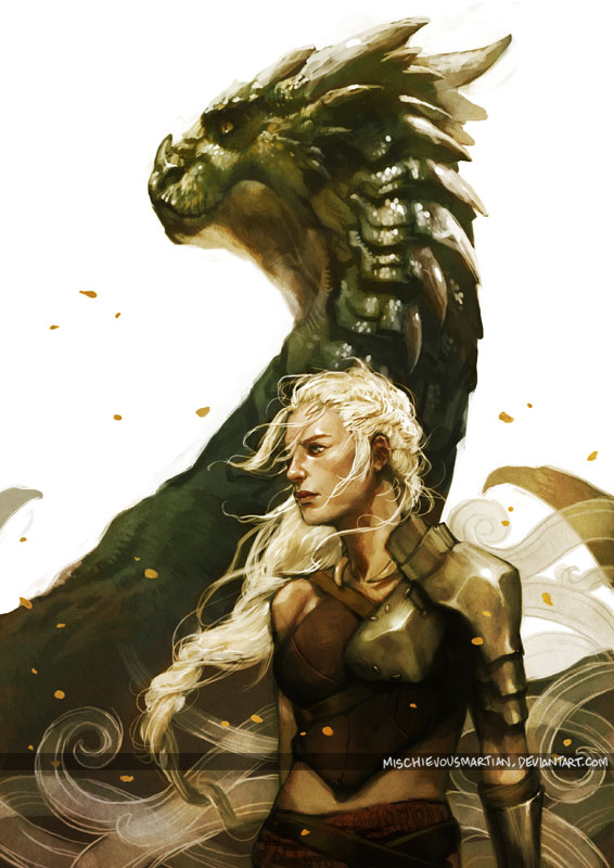 Tags: Anime, MischievousMartian, Game of Thrones, Daenerys Targaryen, deviantART, Mobile Wallpaper, Fanart