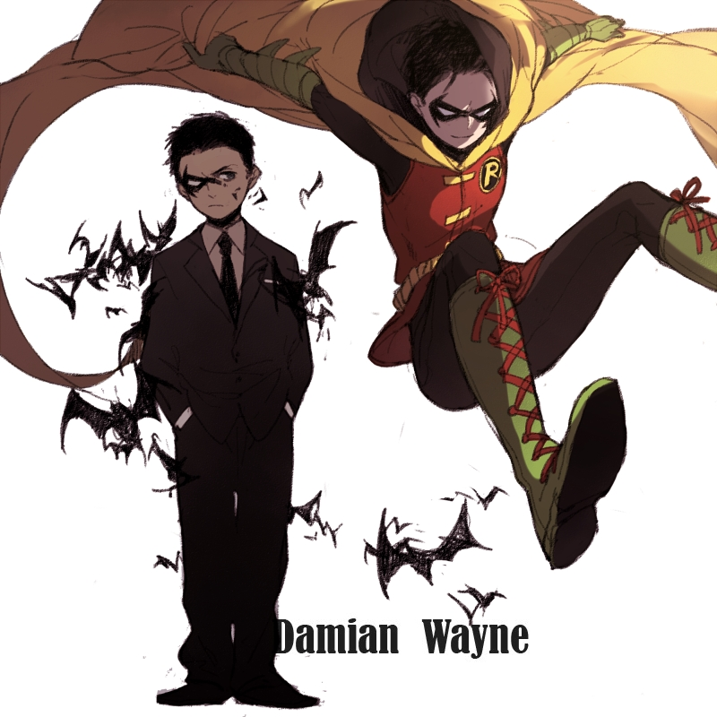 Damian Wayne - Simple Guide to The Bat Family