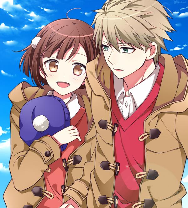 Tags: Anime, 9610 (Artist), Dance with Devils, Kaginuki Rem, Tachibana Ritsuka, PNG Conversion, Pixiv, Fanart, Fanart From Pixiv