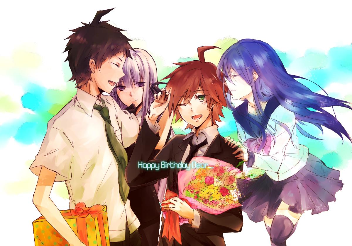 Dangan Ronpa Naegi And Maizono