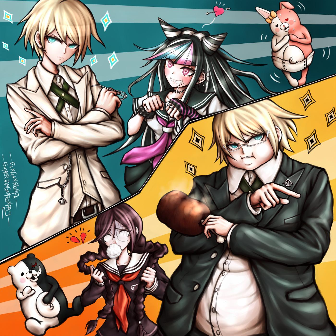 Tags Anime Pixiv Id 6111261 Super Danganronpa 2 Fukawa Touko