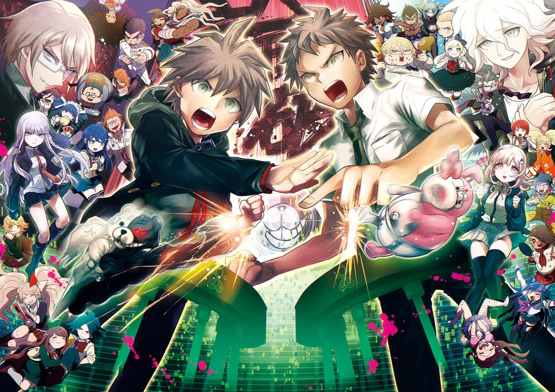 Аниме постеры из игры