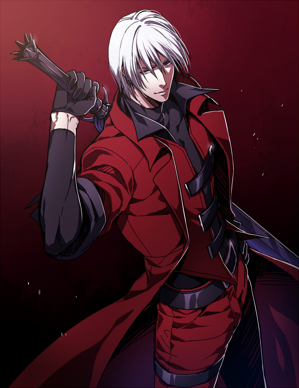 Tags: Anime, Red Lian, Devil May Cry, Dante (Devil May Cry), Fanart